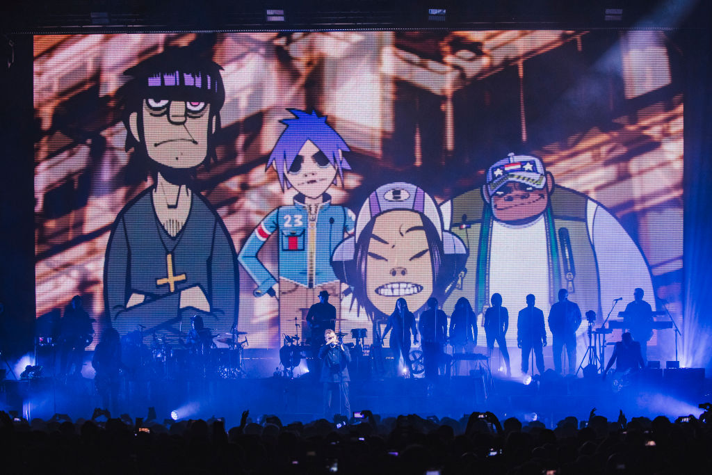 Gorillaz Perform At Manchester Arena